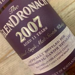 GlenDronach 2007 11 år